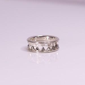 Hourgrass piller ring - SV Small