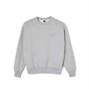 POLAR SKATE CO / PATCH CREWNECK -SPORT GREY-