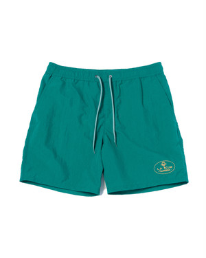 """Last one!"" Packable Swimming Shorts / GREEN"
