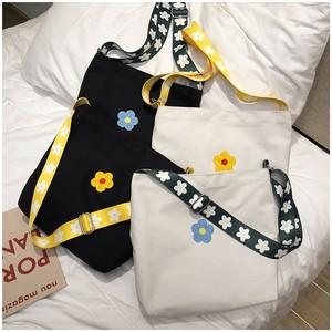 ストリート系帆布かわいいおしゃれ軽いおしゃれプリント旅行大きめ女性トートバッグバッグ