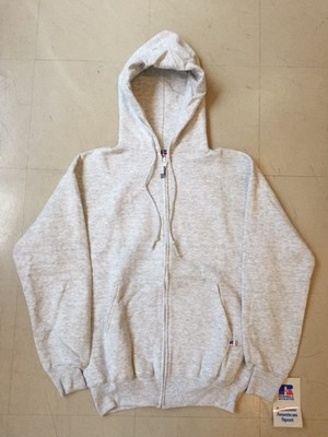 DEAD STOCK RUSSELL ATHLETIC SWEAT ZIP PARKA