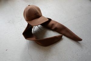 Leh Rabbit Melton Cap (Camel / size:Free)