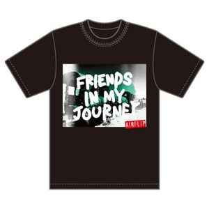 """Friends In My Journey Tour"" T-SHIRTS ブラック"