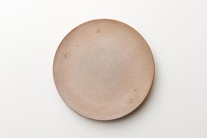 フラットプレート 白釉 shiroyu(32cm)