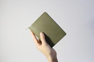 mu middle wallet - khaki -