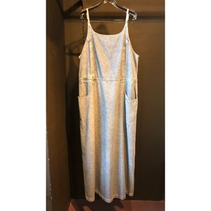 denim camisole one-piece[B949]