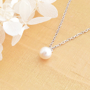Marmaid's tear long necklace / SV925 /