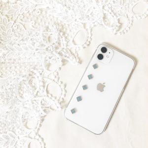 四角デザイン002◇iPhoneケース