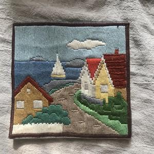 スウェーデンの刺繍絵1