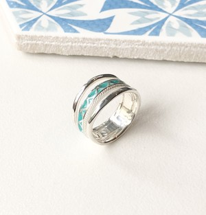 Moroccan breeze Ring_Mint Green