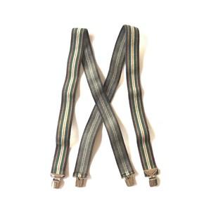 """ Unknown Brand "" Striped Suspenders"