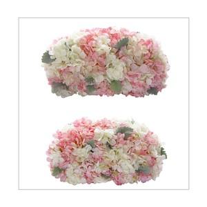 アジサイの高砂装花(約W40㎝×2個セット)メインテーブル・ウェルカムスペースに最適