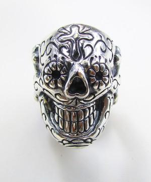 Sugar Skull Ring(Silver925)