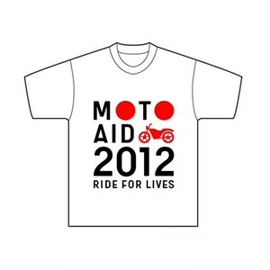 MOTO AID 2012 Officail T-shirt/WM
