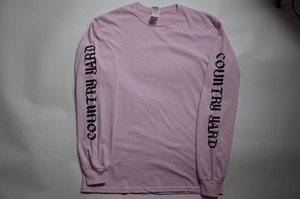 ROSE LONG SLEEVE PINK Msize