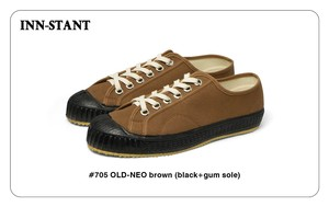 #705 OLD-NEO brown(black+gum sole) INN-STANT インスタント 【税込・送料無料】