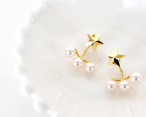 《予約》Star×Pearl pierce