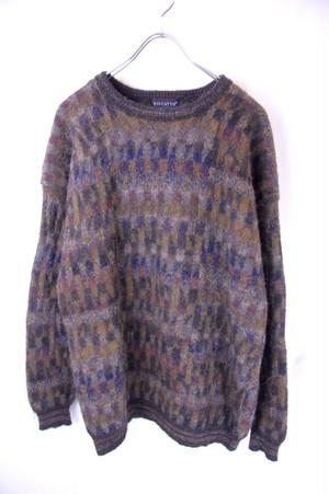 100% Alpaca Hand Knitting Sweater