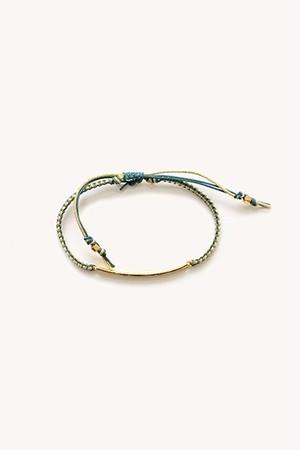 TAI braided cord bracelet