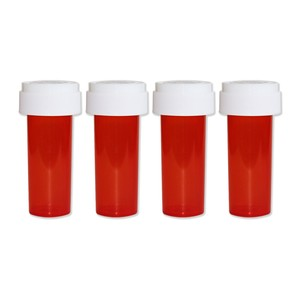 Pill CASE 4pack 【Small / RED】