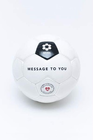 MESSAGE TO YOU(フットサル4号球サイズ)