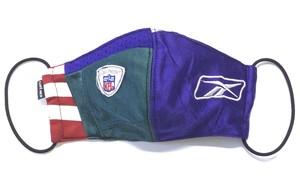 【デザイナーズマスク 吸水速乾COOLMAX使用 日本製】NFL CRAZY PATTERN SPORTS MIX MASK CTMR 1113003