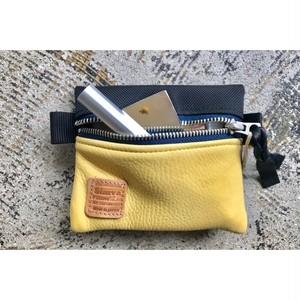 Simva164-0008 Cordura/Leather Pouch S