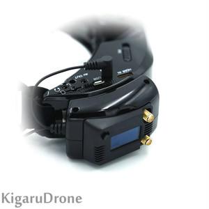 Skyzone  FPV Goggles 用モジュールアダプター