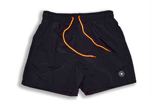 7/11 再販【Board shorts】/black×neon orange