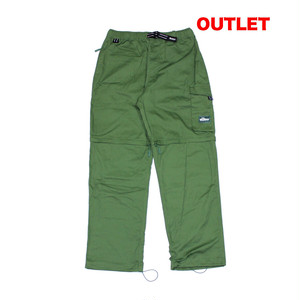 【アウトレット】BUTTER GOODS HIKING ZIP OFF CARGO PANTS LEAF 30INCH