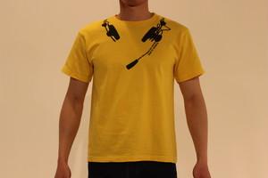 サンテレビボックス席 虎柄ヘッドセット Tシャツ