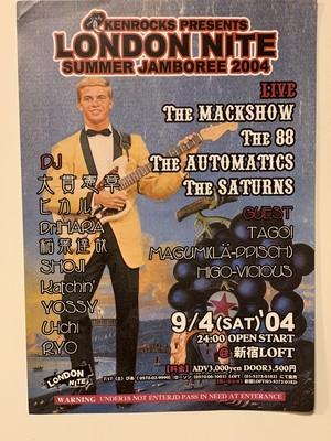 ロンナイポスター SUMMER JAMBOREE 2004