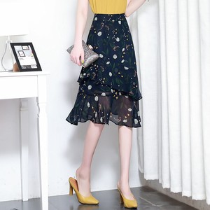 【bottoms】人気集中アイテム綺麗なプリントスカート