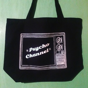 psycho channel DEKA tote bag