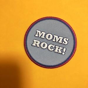 アイロンアップリケ【MOM'S ROCK】