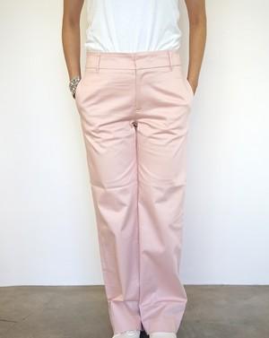 Cotton Wide Pants / Pale Pink