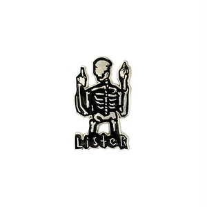 "STUPID KRAP""ANTHONY LISTER - SKELETON FINGER (SILVER)"""