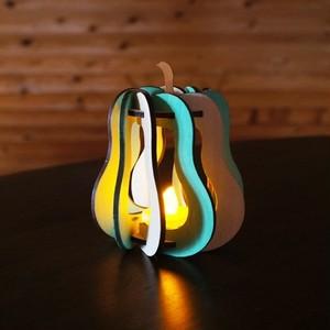 「洋梨」木製ミニランプ