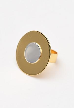 ARME DE L'AMOUR ゴールド × シルバー プレート リング