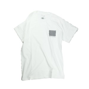 Like a river flow Short Sleeve / White
