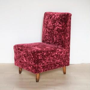 ワインレッドのソファー 1人掛け