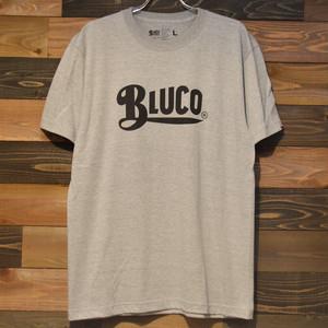 "BLUCO ""PRINT TEE'S -logo-"" GRAY"