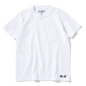 narifuri×MARK GONZALES ヘビーコットンポケットTシャツ