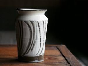 小鹿田焼 坂本浩二窯 6寸花瓶
