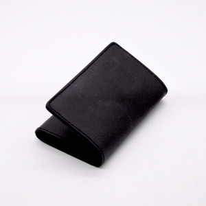 Yezo deer card case 墨染series black