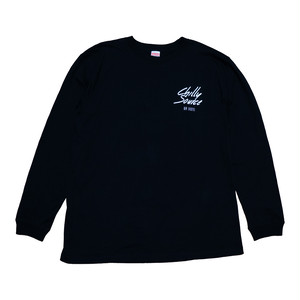 Chilly Source Logo Long Tee 【Black】