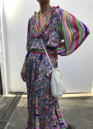 Diane freis butterfly pink dress ( ダイアン フレイス 蝶々 ピンク ワンピース )