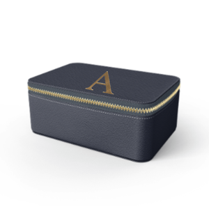 Box Premium Smooth Leather Case (Midnight Blue)
