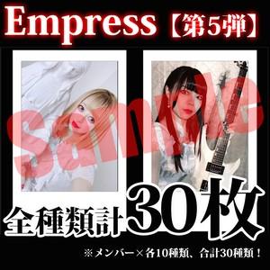 【チェキ / 全種類計30枚】Empress【第5弾】