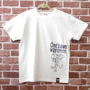 あっかんべ~ねずみ 半袖Tシャツ 白